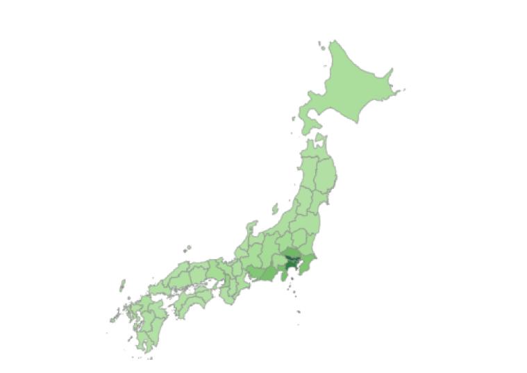 伊豆エリア全体の観光概況分析 (国内居住者)
